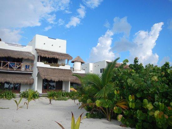 Almaplena Eco Resort & Beach Club: Vista hotel