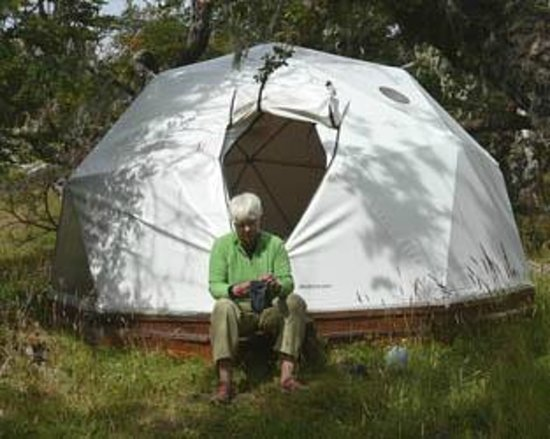 Adventure Domes Ecocamp Patagonia: our Dome