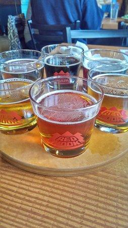 Red Hook Brewery : Beer Sampler