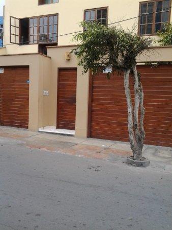 Casa de Baraybar: la entrada
