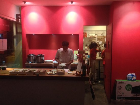 Warung Kecil - counter & kitchen