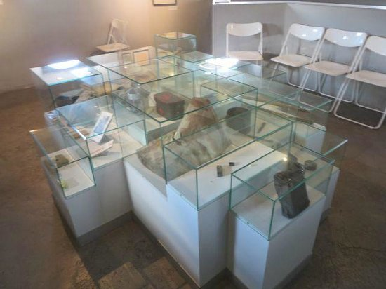 Peace Museum - Bridge at Remagen: Museum exhibit