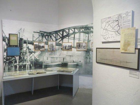 Peace Museum - Bridge at Remagen: Museum exhibits