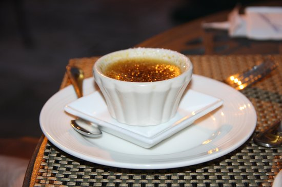 The Dan'l Webster Inn Restaurant: Chai creme brulee