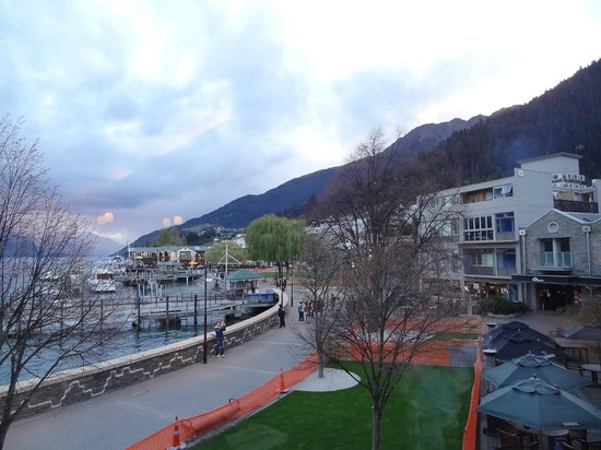 The view from my balcony table picture of prime for Bar food queenstown