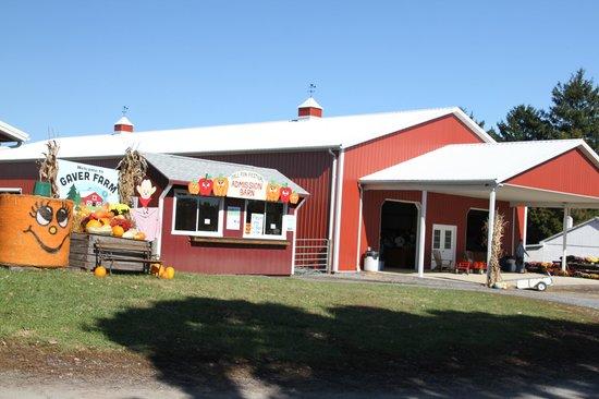 Gaver Farm : Front entrance