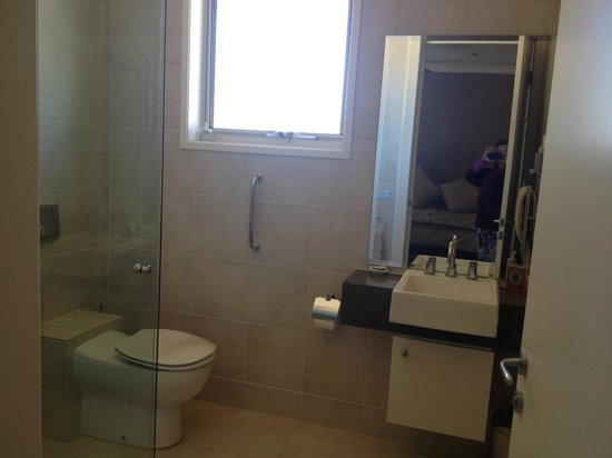 Bogee, Australia: This bathroom has been built to suit people with disabilities.