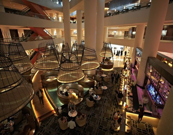 Pan Pacific Singapore: Atrium Bar
