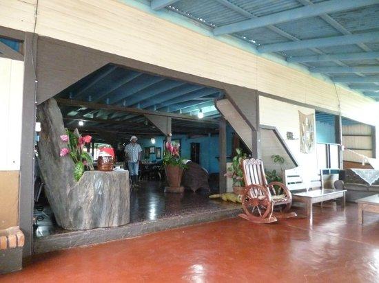 Casona Rio Fortuna: entrada