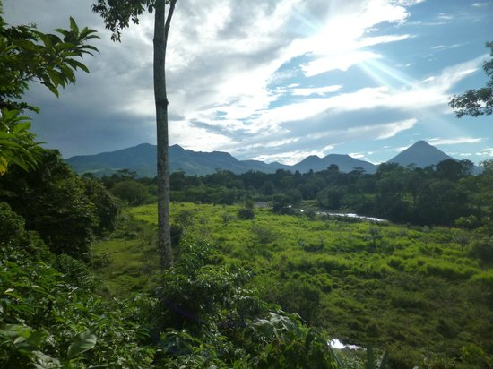 Casona Rio Fortuna: paisaje
