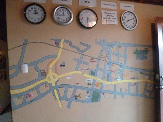 Castle Tam Hostel: mapa