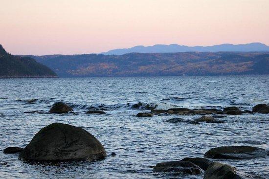 Auberge de la Riviere Saguenay : Plage de l'auberge