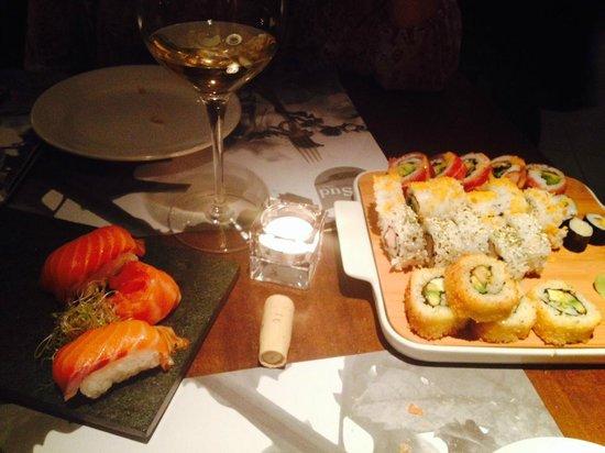Del Sur Espacio: Sushi con Juli!
