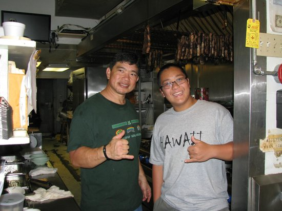 Helena's Hawaiian Food: In Helena's Kitchen with Craig Katsuyoshi ... Mahalo!