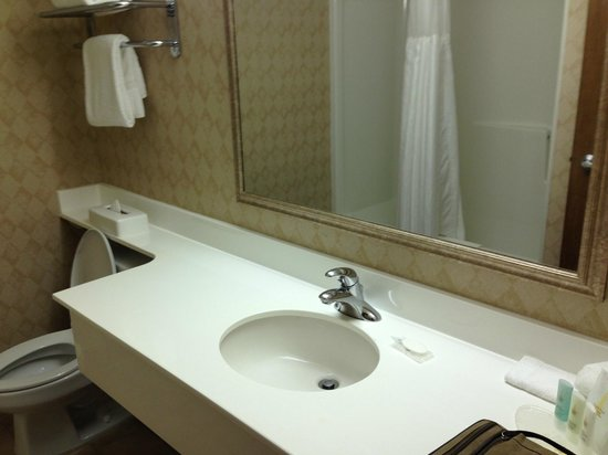 Comfort Inn & Suites: Free toiletries each day