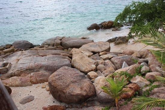 PD Resort: private beach