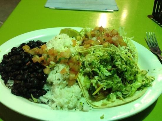 Wahoo's Fish Taco: Fish tacos