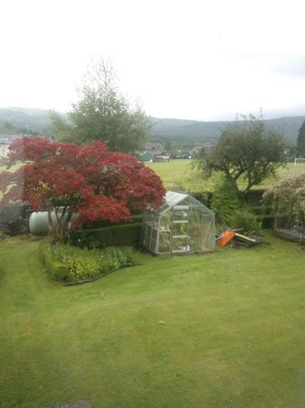 Dall Lodge Country House: View from back bedroom