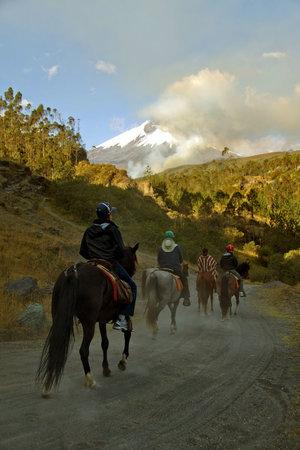 Hacienda San Agustin De Callo : Cabalgatas