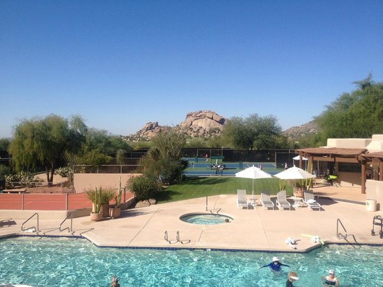 Boulders Resort & Spa, Curio Collection by Hilton : CLub Pool and Tennis
