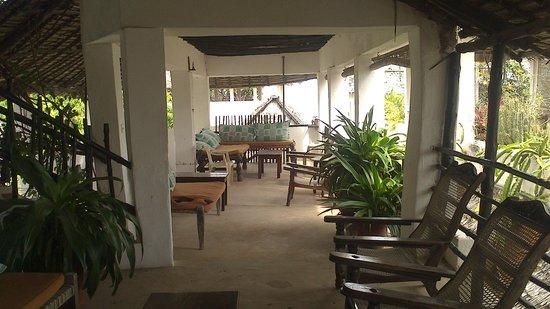 Jannat House: Main terrace