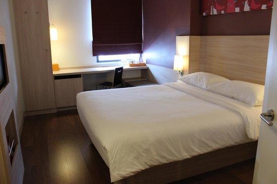 ibis Bangkok Siam Hotel : Clean room, simple floor