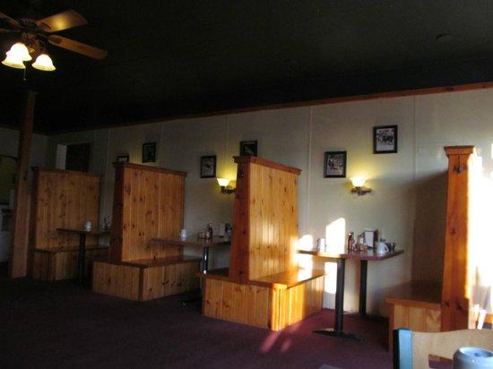 The Cariboo Inn: restaurant next door