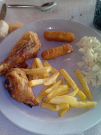 Ponderosa Apart Hotel: comida