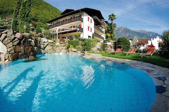 Hotel Appartement Sonnenhof: Beheiztes Freibad mit Salzwasser