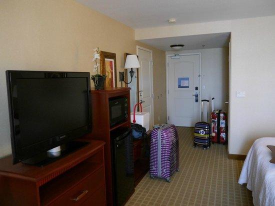 Hampton Inn & Suites Redding: Zimmer Richtung Augang