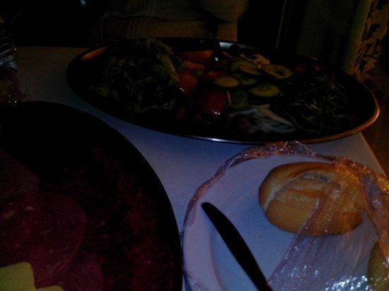Ponderosa Apart Hotel: cena fria