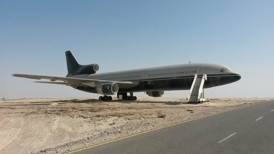 Emirates National Auto Museum: A Closer look at the aircraft