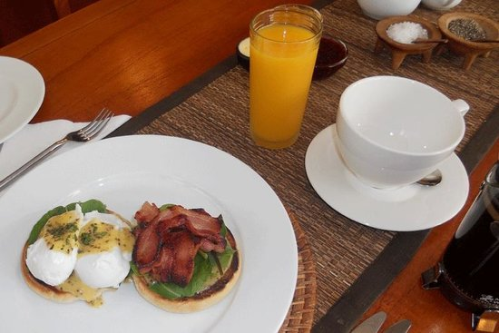 Lupton Special Breakfast - one of the options for complimentary breakfast at Lupton Lodge