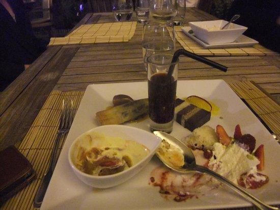 Auberge de l'Ile: The Cafe Gourmand mid-demolishment