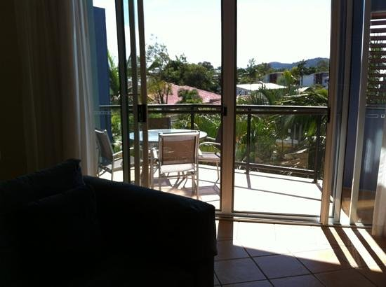 Twin Quays Noosa: view from lounge