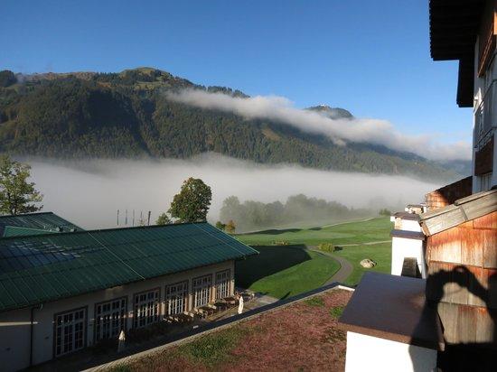 Grand Tirolia: Blick vom Balkon 2