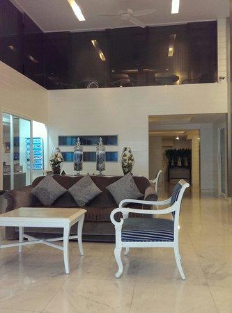 Pratunam City Inn : Hotel lobby