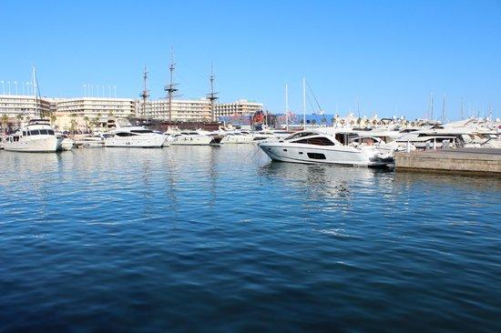 Mendez Nuñez: Puerto de Alicante - Marina deportiva