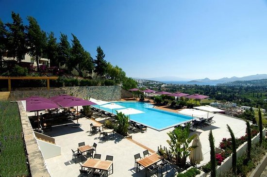 Ramada Resort Bodrum: Pool view
