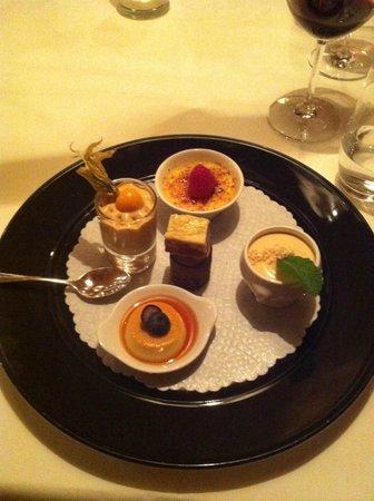 Schlosshotel Chaste : Dessert