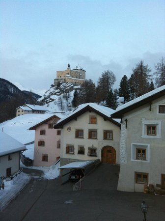 Schlosshotel Chaste : Vue depuis la chambre avec vue sur le château