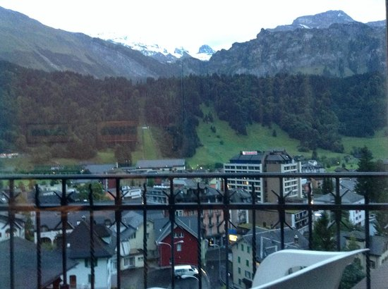 Edelweiss Engelberg : View from The Balcony of Hotel Room