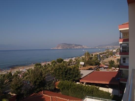 Saritas Hotel: вид с балкона