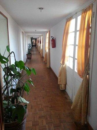 Hotel des Thermes : corridor