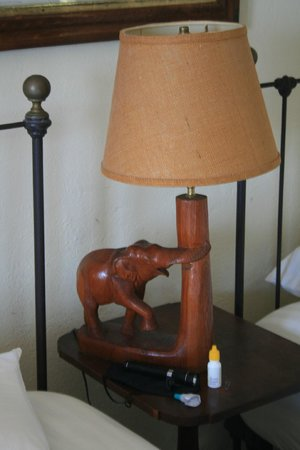 Naulakha : A lamp Rudard might have appreciated (electricity was added after Kipling left)
