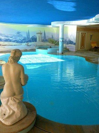 Hotel Lagorai Alpine Resort & Spa : Piscina interna riscaldata (troppo cloro)