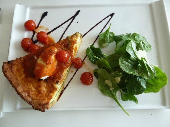 Panorama Restaurant and Bar: Goats Cheese Tart