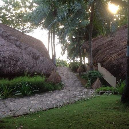 Alegre Beach Resort: вид из бунгало