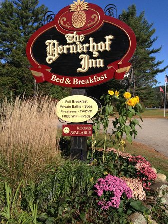 Bernerhof Inn Bed and Breakfast: You have arrived!