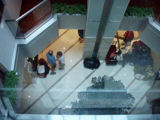 Guia Hotel: elevator shaft & interior